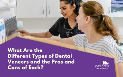 What are the different types of dental veneers and the pros and cons of each?