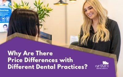 Why are there price differences with different dental practices?